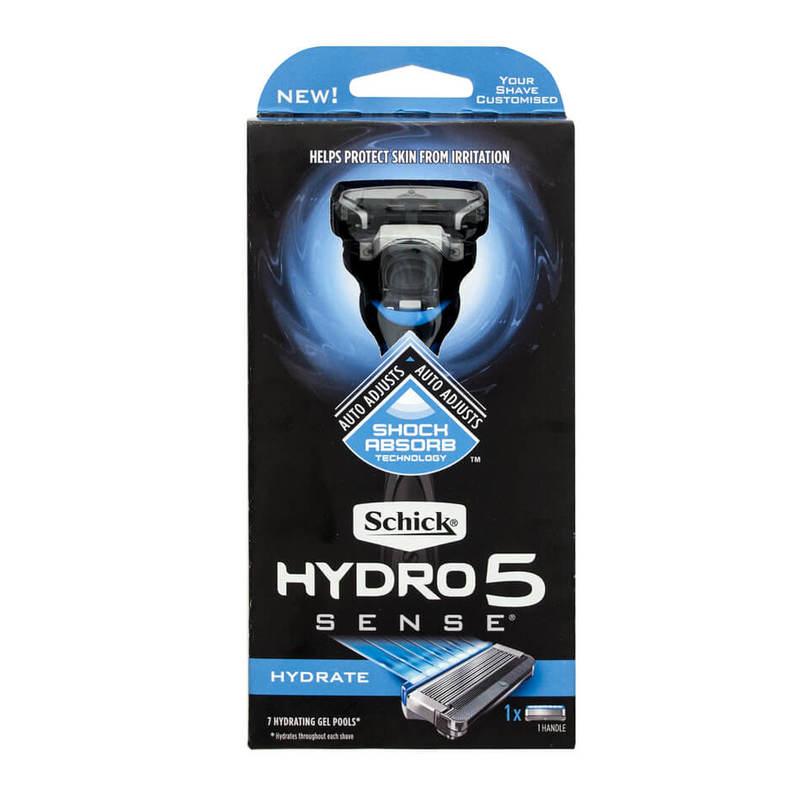 Schick  Hydro 5 Sense Hydrate Kit
