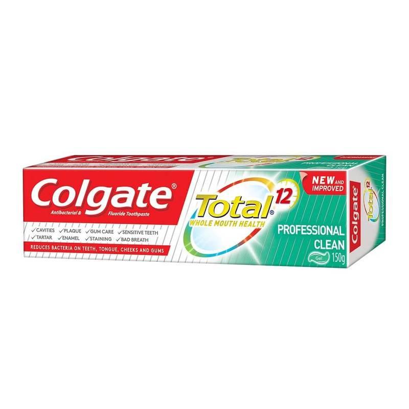 Colgate Total Professional Clean Gel Antibacterial Toothpaste 150g