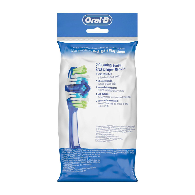 Oral-B Easy Clean Med, 3pcs