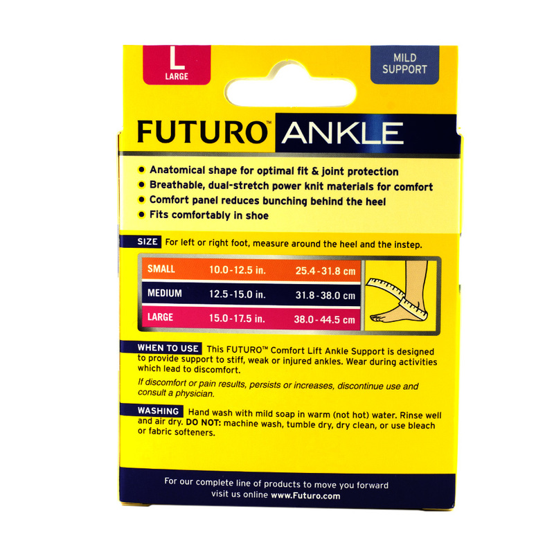 Futuro Comfort Lift Ankle Support L