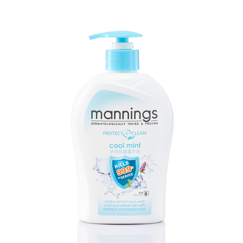 Mannings Antiseptic Hand Wash Cool Mint 500mL