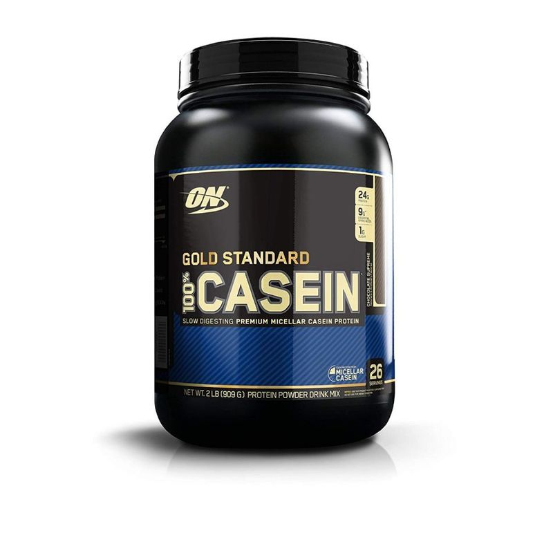 Optimum Nutrition 100% Gold Standard Casein Chocolate Supreme, 909g