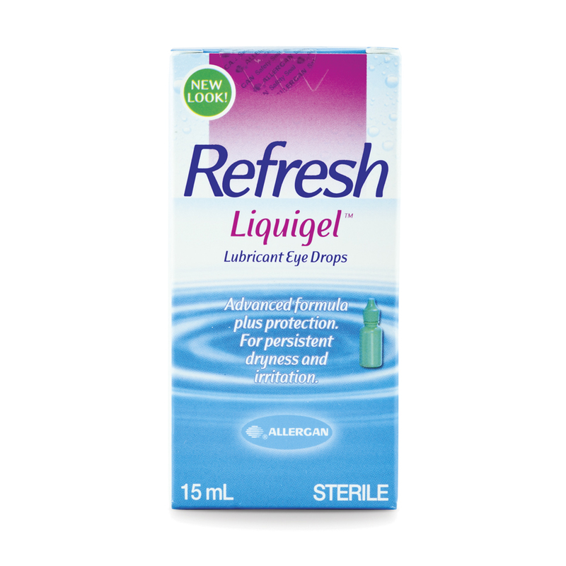 Allergan Refresh Liquigel Lubricant Eye Gel, 15ml