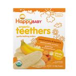 Happy Baby Organics Teething Wafers:Banana Sweet Potato 4g x12pcs