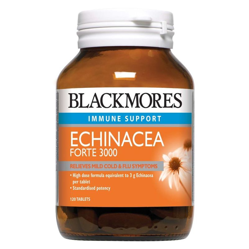 Blackmores Echinacea Forte 3000 Immune Support, 120 tablets