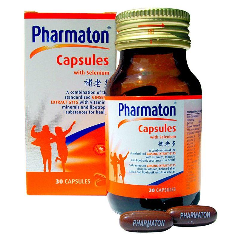 Pharmaton Capsules with Selenium, 30 capsules