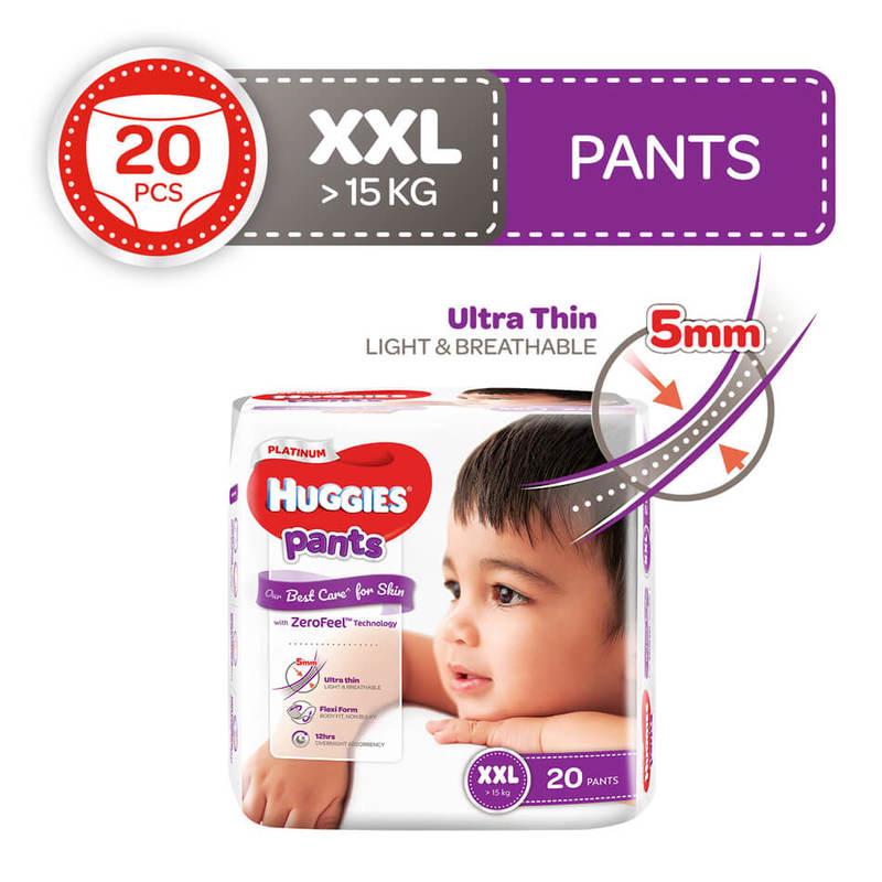 Huggies Platinum Pants XXL, 20pcs
