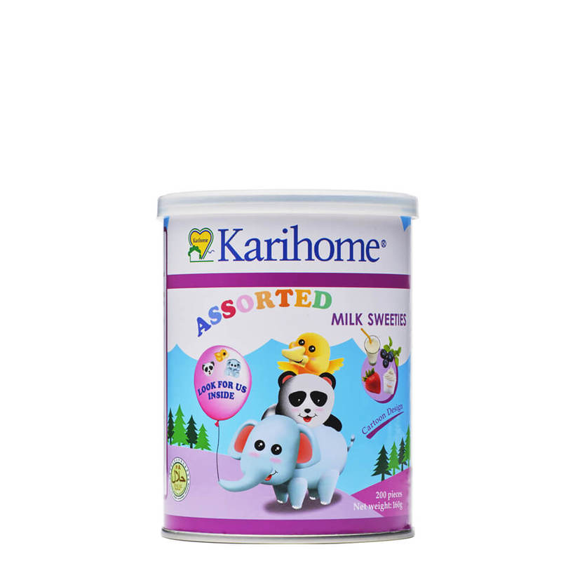 Karihome Assorted Milk Sweeties, 200pcs
