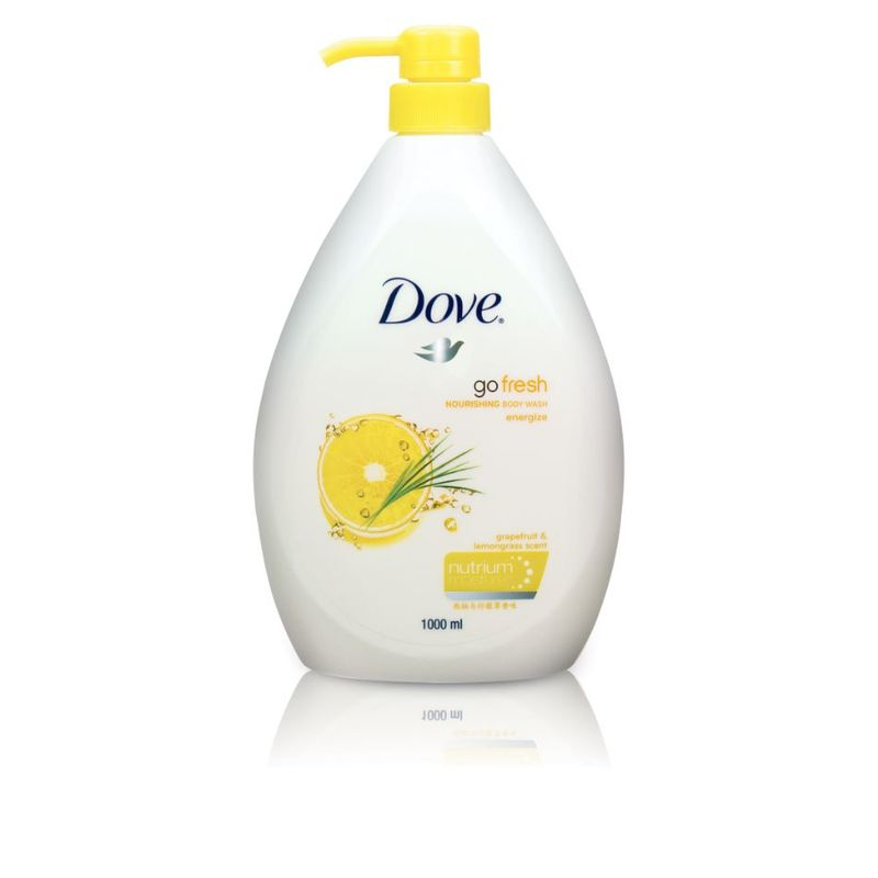Dove Go Fresh Energize Body Wash, 1000ml