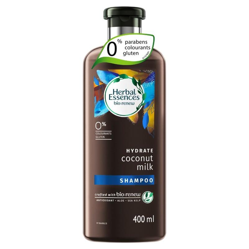 Herbal Essences HYDRATE Coconut Milk Shampoo, 400ml