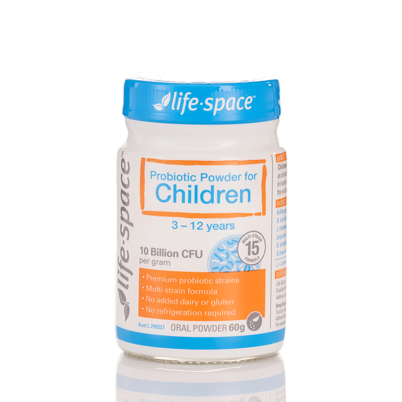 Life Space Probiotic Powder For Children 3-12Years 60g