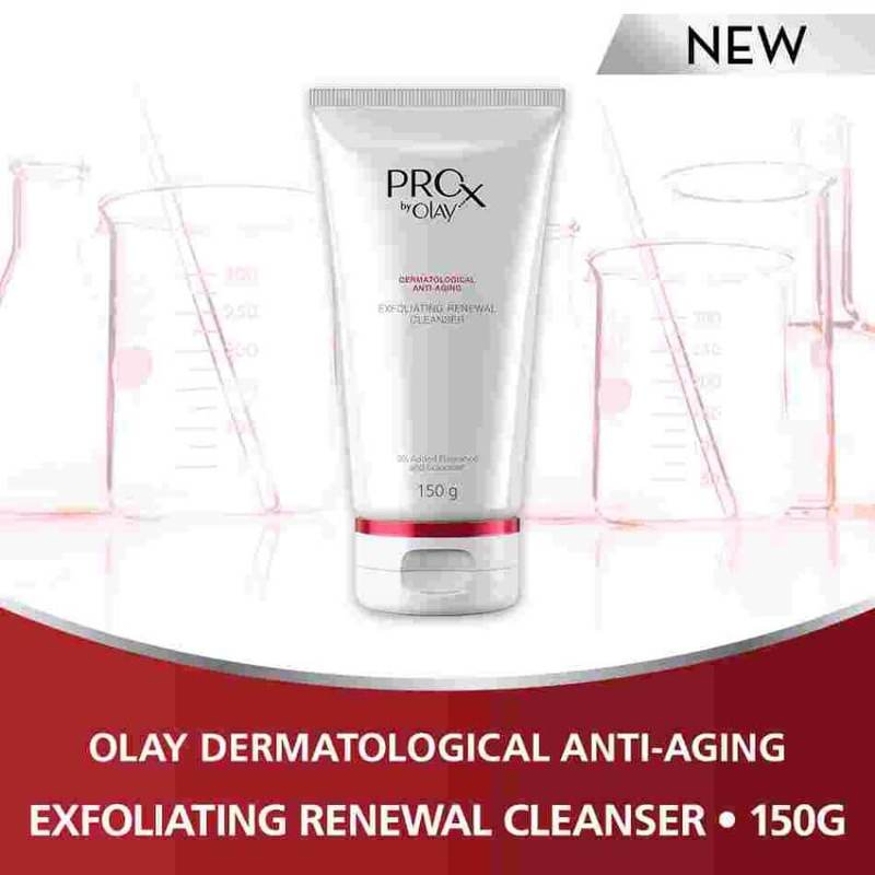 Olay ProX Exfoliating Renewal Cleanser 150g