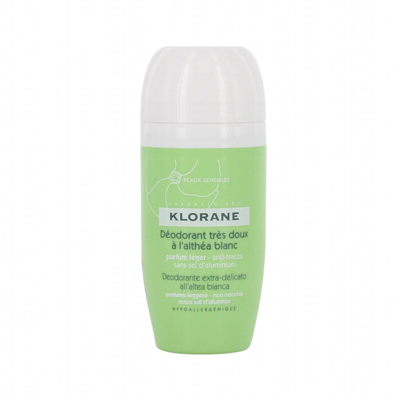 Klorane Gentle Deodorant Roll On White Althea, 40ml