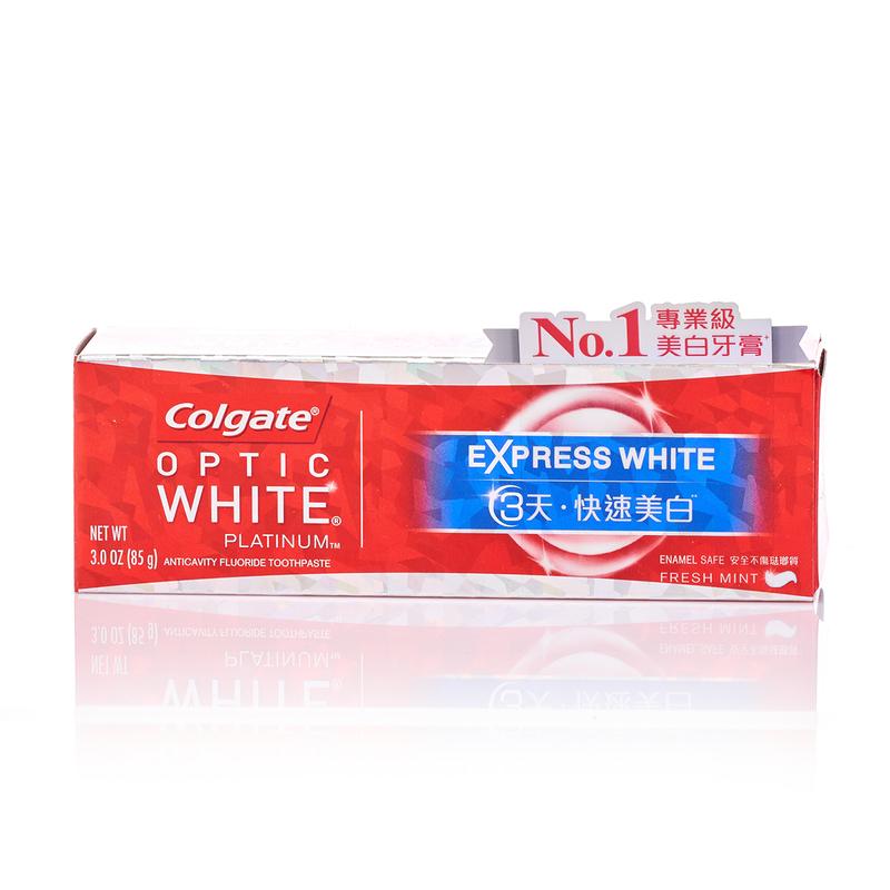 Colgate Optic White Platinum White Toothpaste 85g
