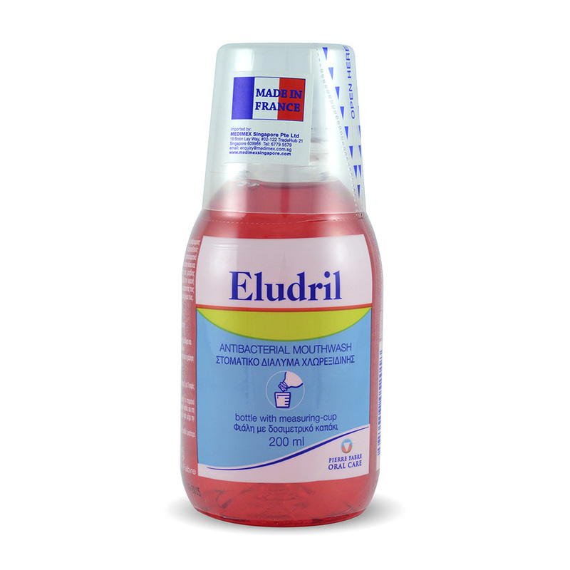 Eludril Antibacterial Mouthwash, 200ml