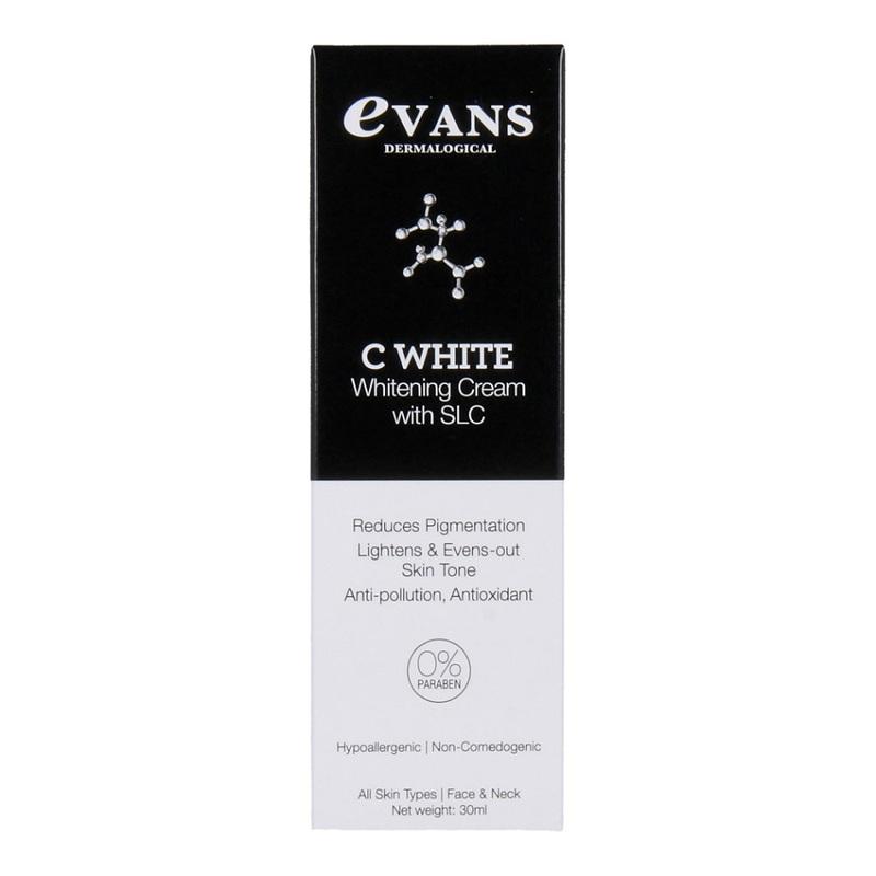 Evans C White Whitening Cream with SLC, 30ml