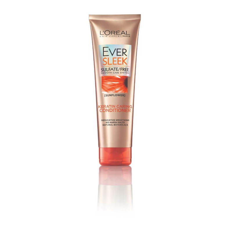 L'Oreal Paris EverSleek Keratin Caring Conditioner 250ml