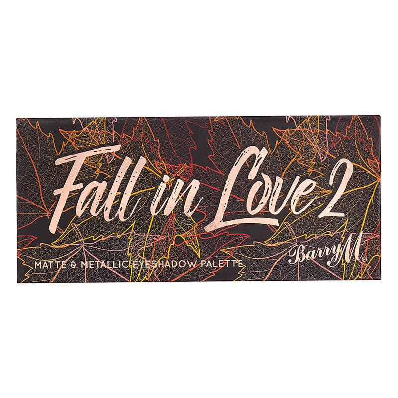 Barry M Eyeshadow Palette Fall In Love, 2 7g