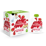 Little Freddie Organic Strawberry Smash Smoothie (Multipack) 90gx4