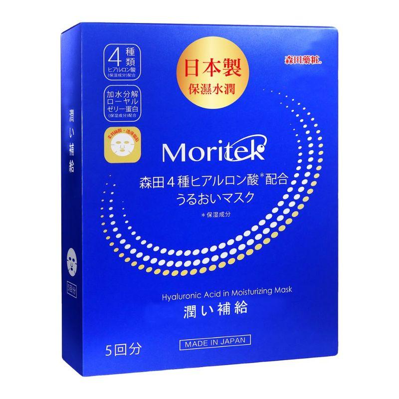 Dr Morita Moritek Hyaluronic Acid Moisturizing Mask 5S
