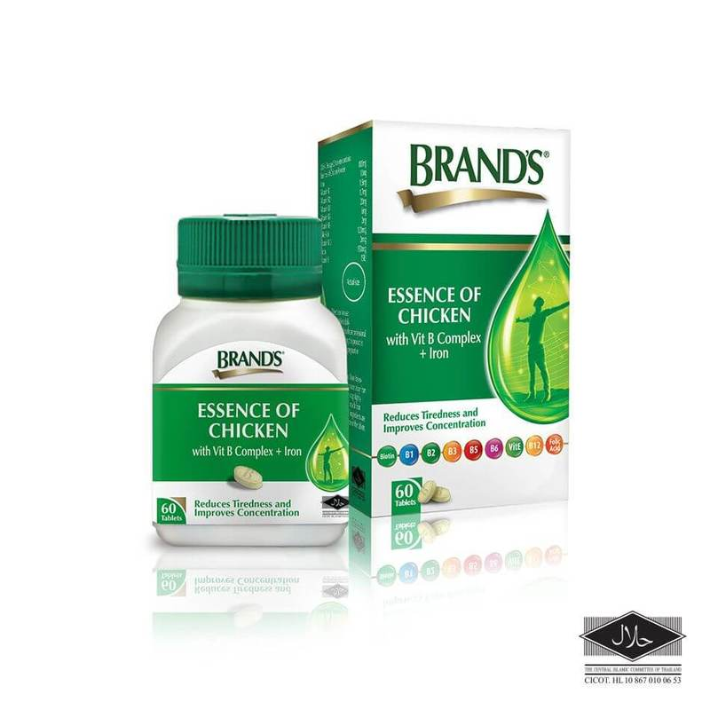 Brand's Essence of Chicken with Vit B Complex plus Iron, 60 tablets