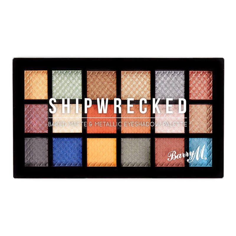 Barry M Shipwrecked Eyeshadow Palette, 16.2g