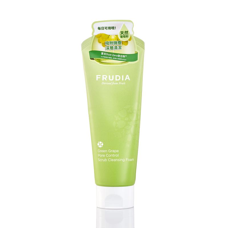 Frudia Grape Pore Control Scrub Cleansing Foam 145mL