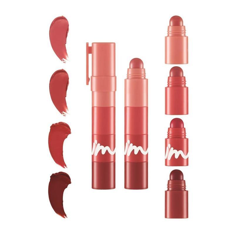 I'm Meme Multi Lip Crayon Matte 003 Rose On My Lips, 3.2g