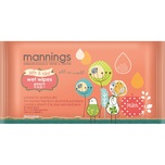 Mannings Wet Tissue Peach 10pcs X3bags
