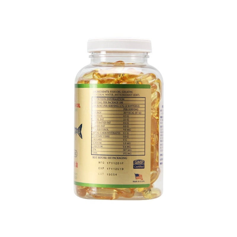 Mannings USA Fish Oil1000mg 200pcs