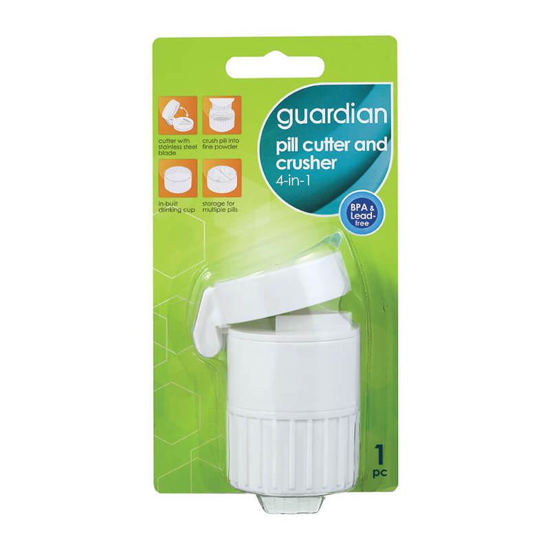 Guardian Pill Cutter & Crusher 4-In-1
