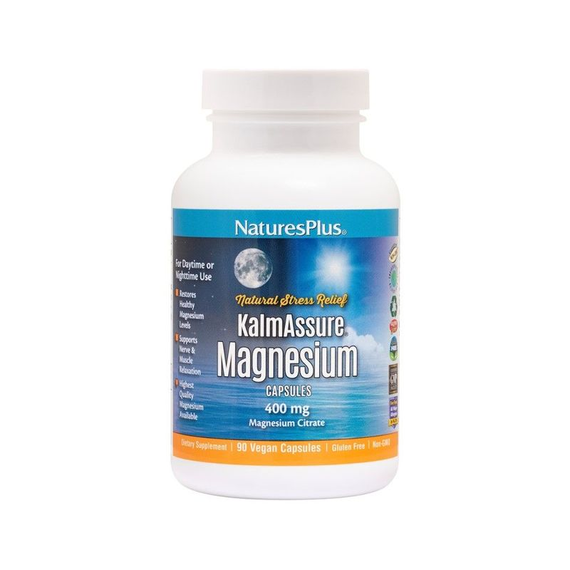Natures Plus Kalmassure Magnesium, 90 capsules