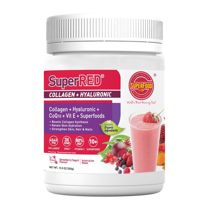 SuperRed Collagen + Hyaluronic 300g