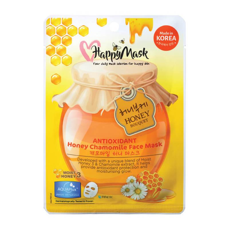 HappyMask Honey Jasmine Face Mask Moisturising
