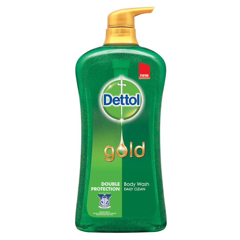 Dettol Gold Body Wash Daily Clean, 950ml