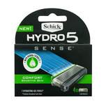 Schick  Hydro 5 Sense Comfort Refill  ( 4 X Cartridges )