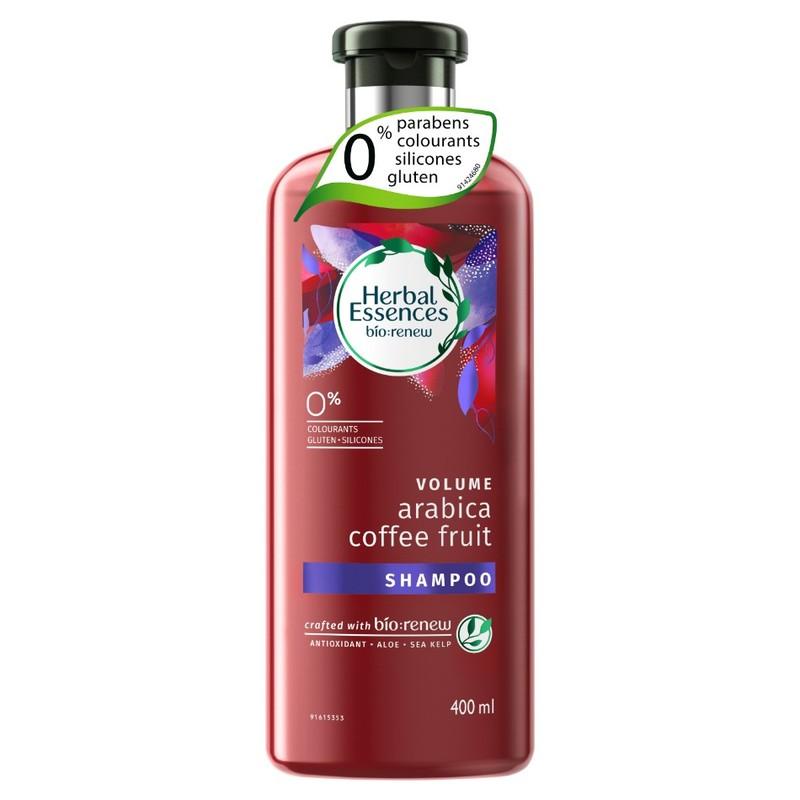Herbal Essences VOLUME  Arabiaca Coffee & Fruit Shampoo, 400ml
