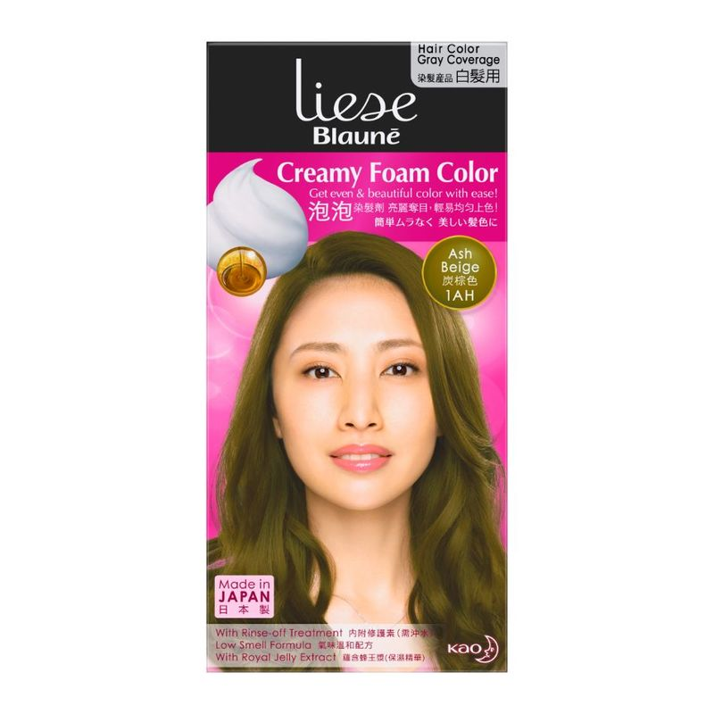 Liese Blaune Foam Color Ash Brown