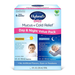 Hyland's Baby Mucus + Cold Relief, Day & Night Value Pack (Ages 6+ months) 236ml