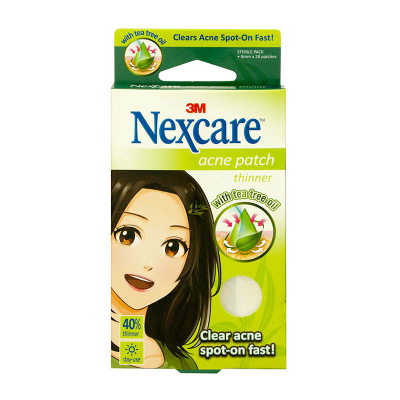 Nexcare Tea Tree Acne Patch Thinners 28s