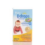 Baby Ddrops Liquid Vitamin D3 2.5mL