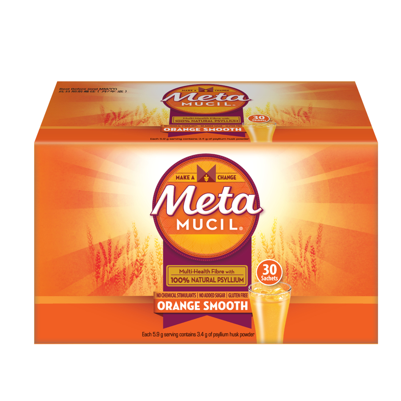 Metamucil Orange Smooth30g