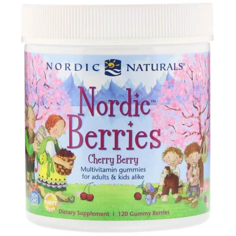 Nordic Naturals Nordic Berries, 120pcs