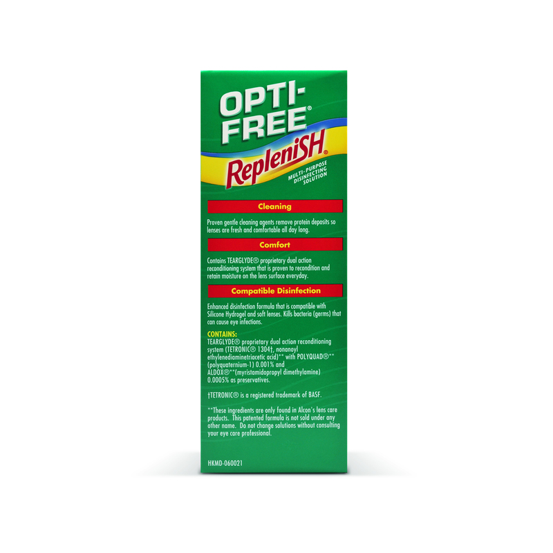 Alcon Opti-Free® RepleniSH® Multi-Purpose Disinfecting Solution 300mL X 3 bottles