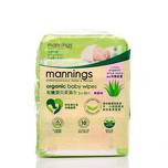 Mannings Organic Babywipe 90pcs X3bags