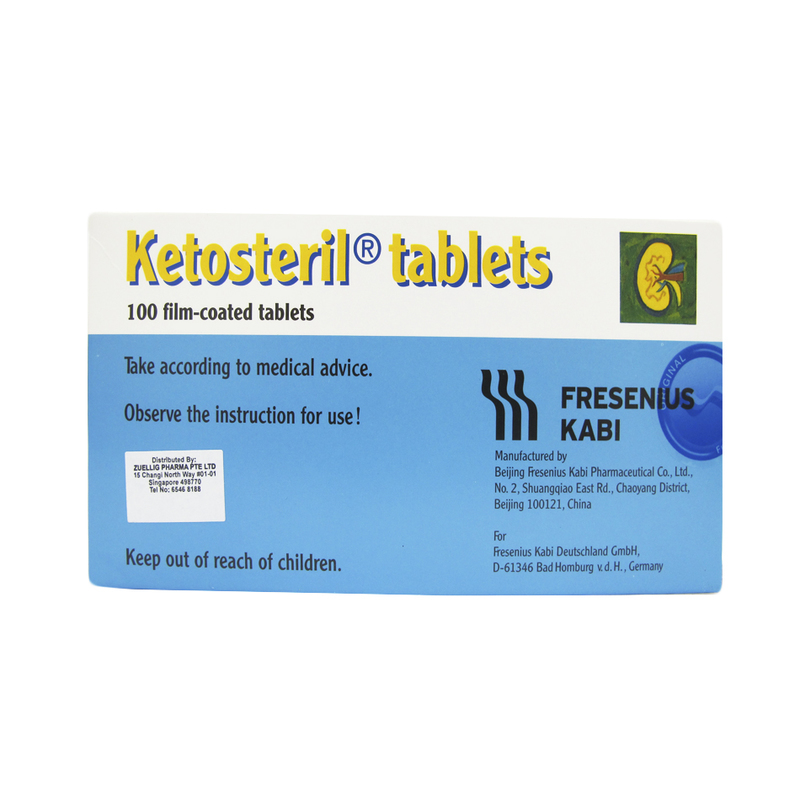 Fresenius Ketosteril Tablets, 100 tablets