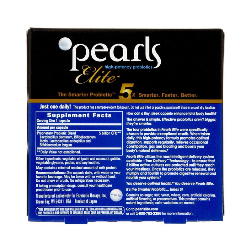 GreenLife Pearls Elite Probiotics, 30pcs