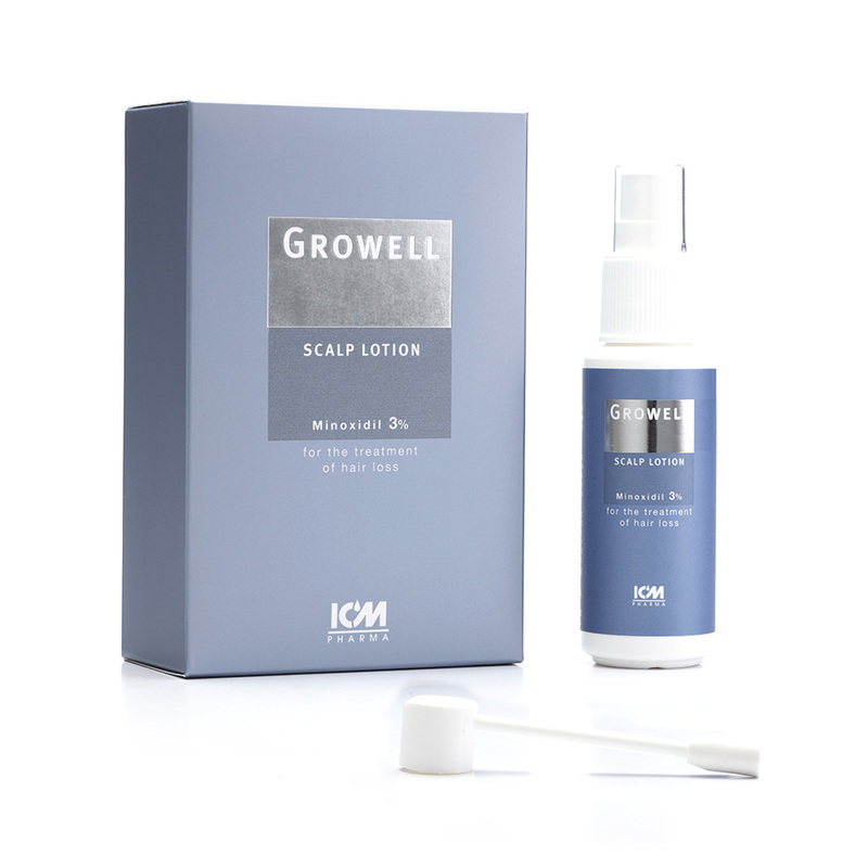 ICM Growell 3% Scalp Lotion, 60ml