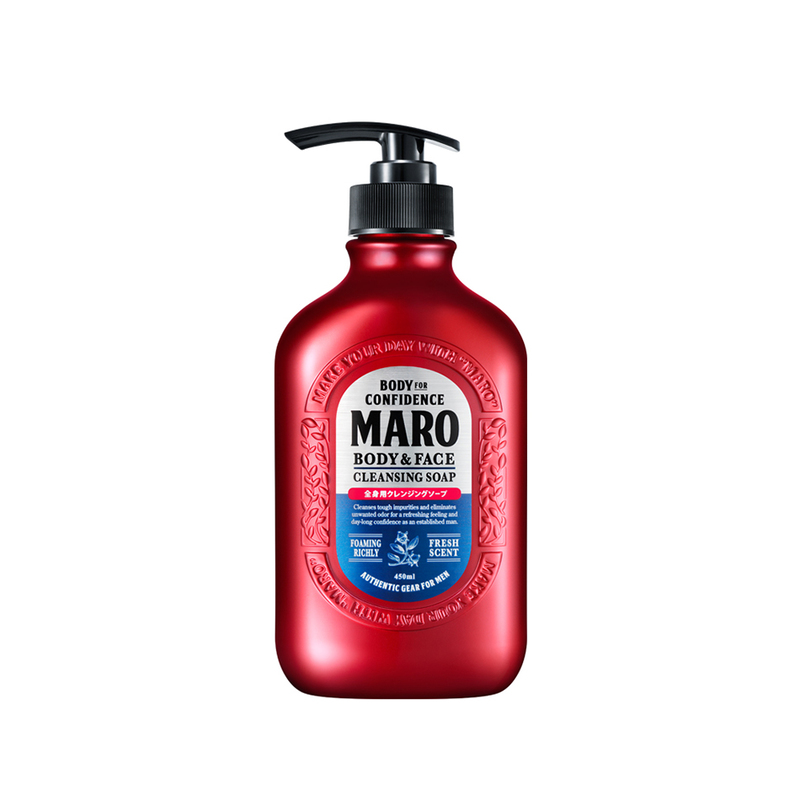 Maro Body & Face Cleansing Soap, 450ml