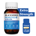 Blackmores Probiotics+ 30 Billion, 30 capsules